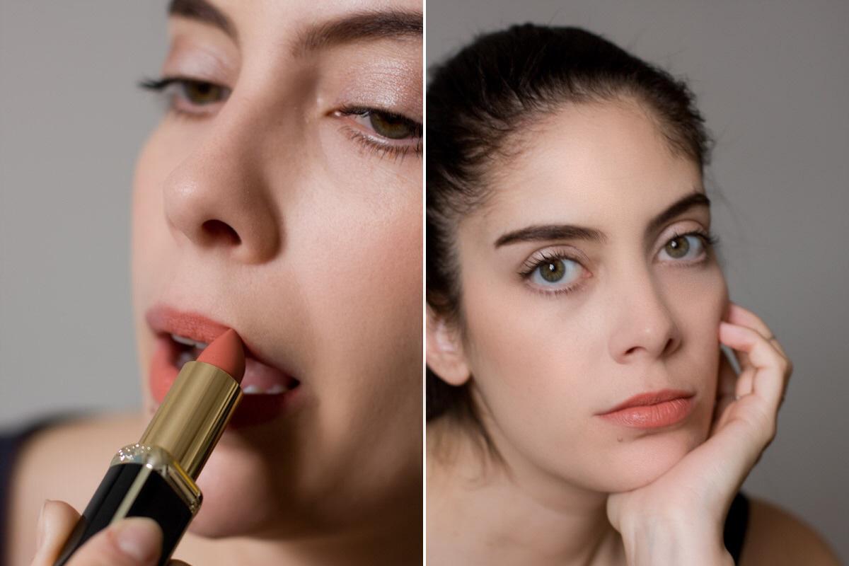 Dito Lippenstift Balmain Confession L'Oréal.