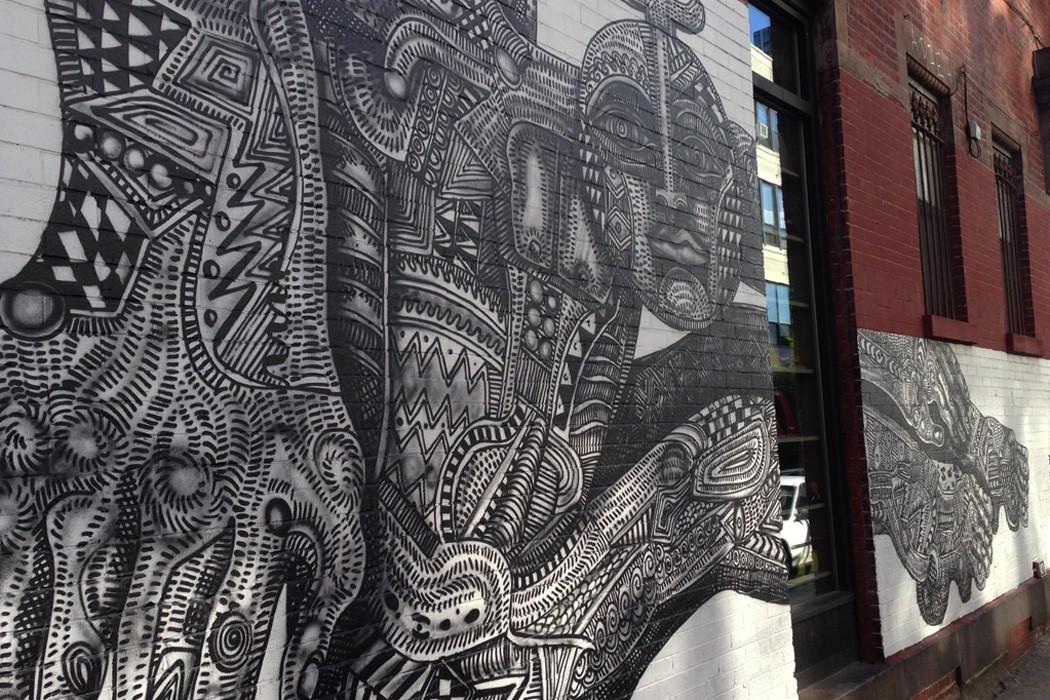 Brooklyn Art Wall