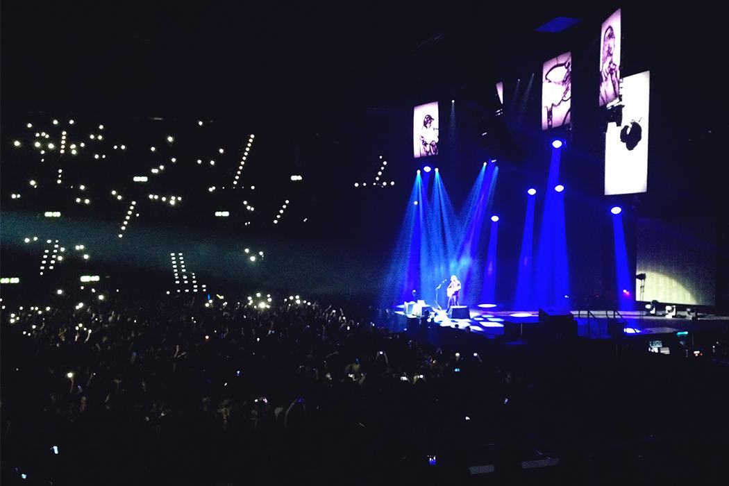 Ed Sheeran im Hallenstadion
