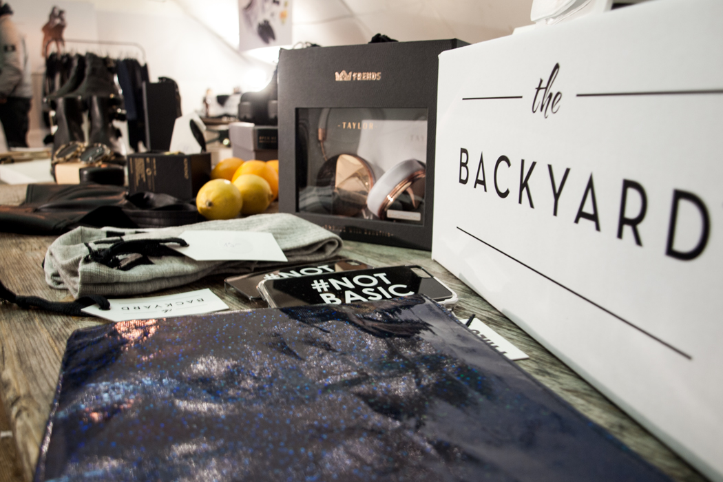 The Backyard Pop up Store