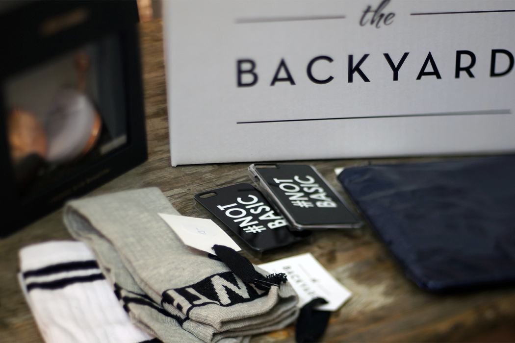 Backyard Pop up Store