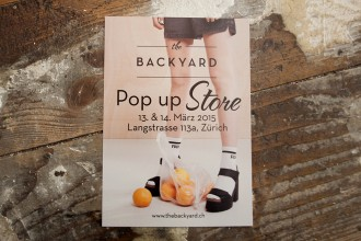 Backyard Pop up Store