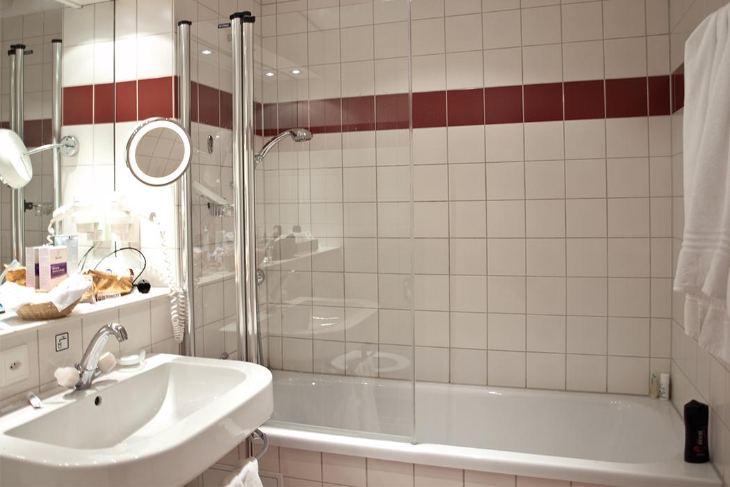 Lindner Hotel Beau Rivage Interlaken Badezimmer
