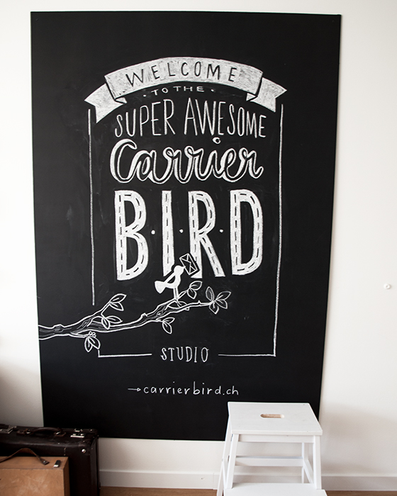 Carrier Bird Tafel