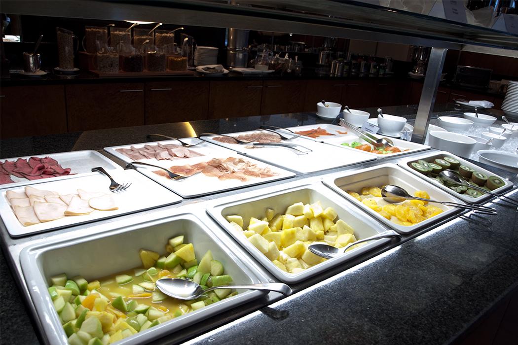 Lindner Hotel Beau Rivage Interlaken Frühstücksbuffet