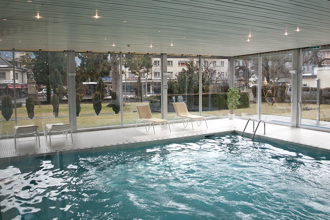 Lindner Hotel Beau Rivage Interlaken Schwimmbad