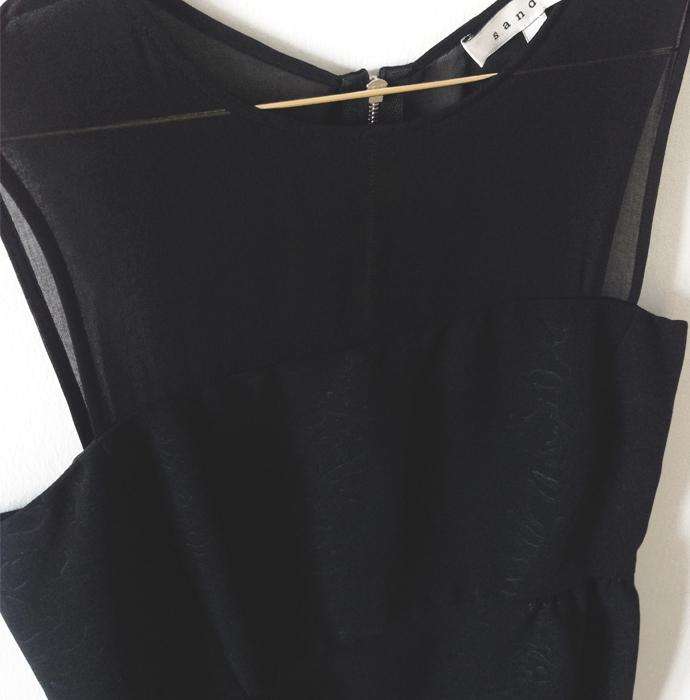 Festkleid schwarz