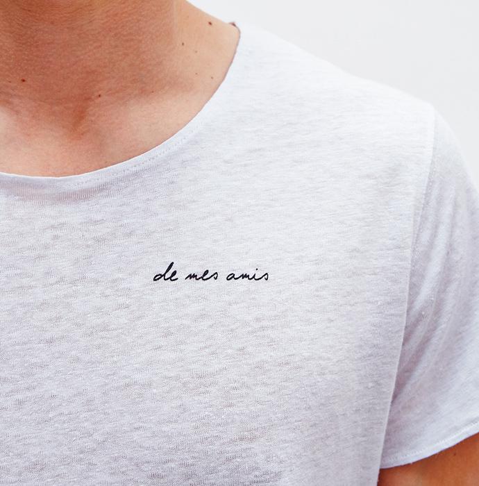Des Mes Amis Leinen Shirt