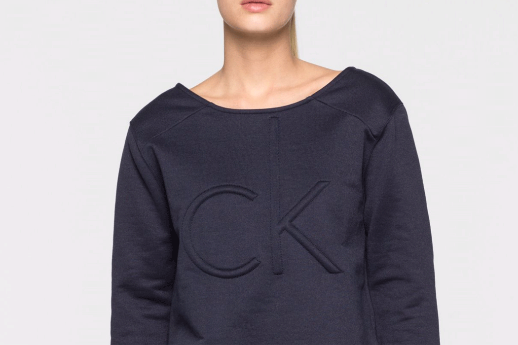 cK Sweater navy