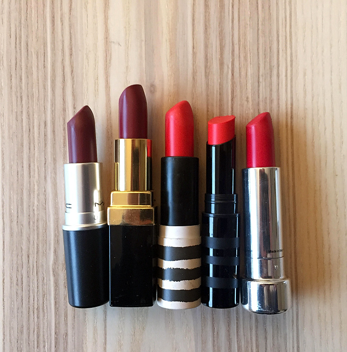 Top 5 Red Lips