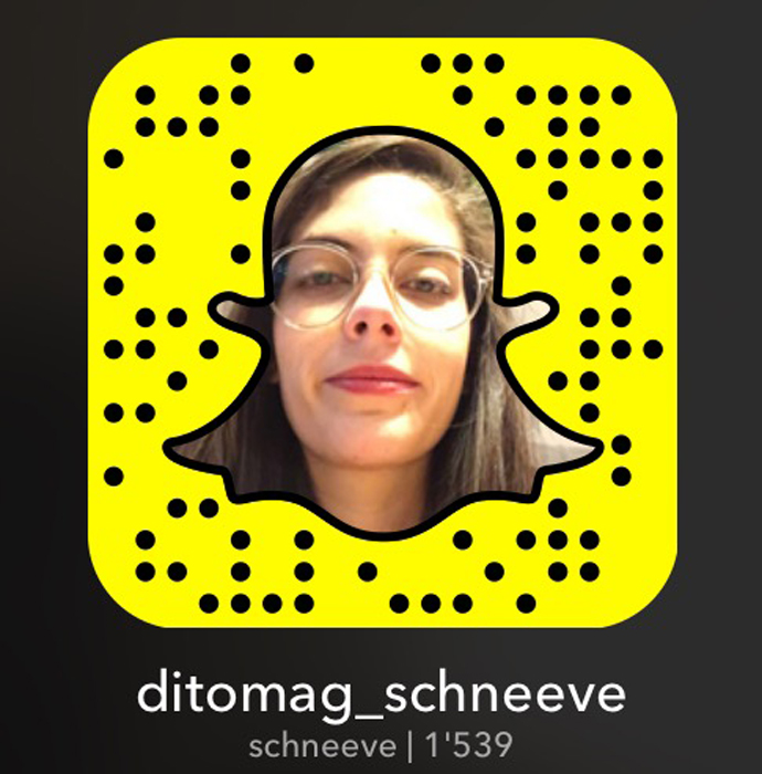 Snapchat schneeve
