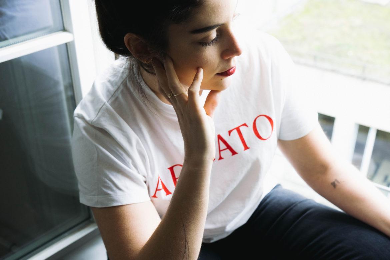 Statement-Shirt Arigato T-Shirt