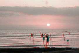 Strand Glücksjahr 2017 Rückblick Fabienne Glitch