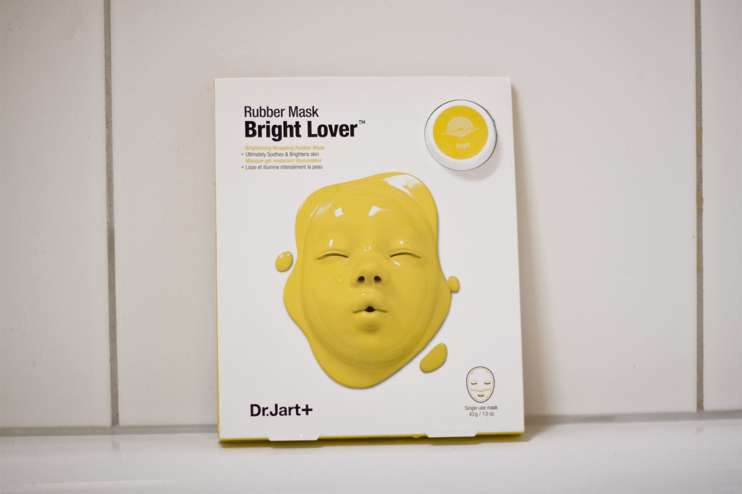 Dr.Jart+ Bright Lover Rubber Mask im Test.