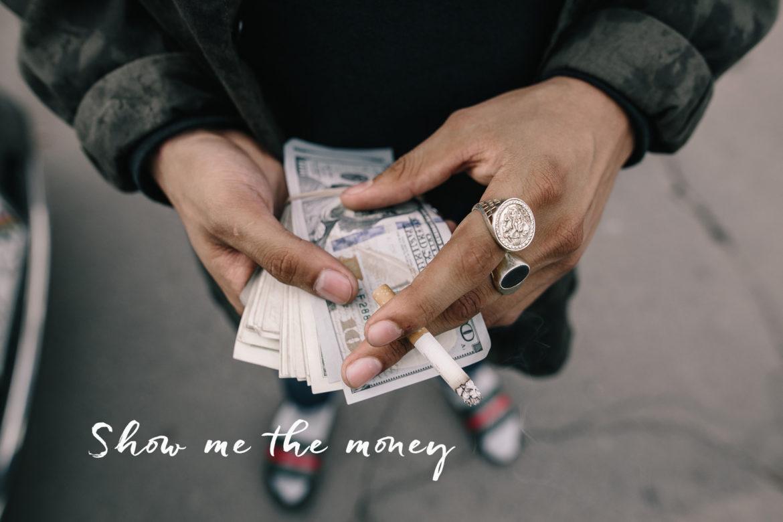 Jeremy Paige Dollar Noten.