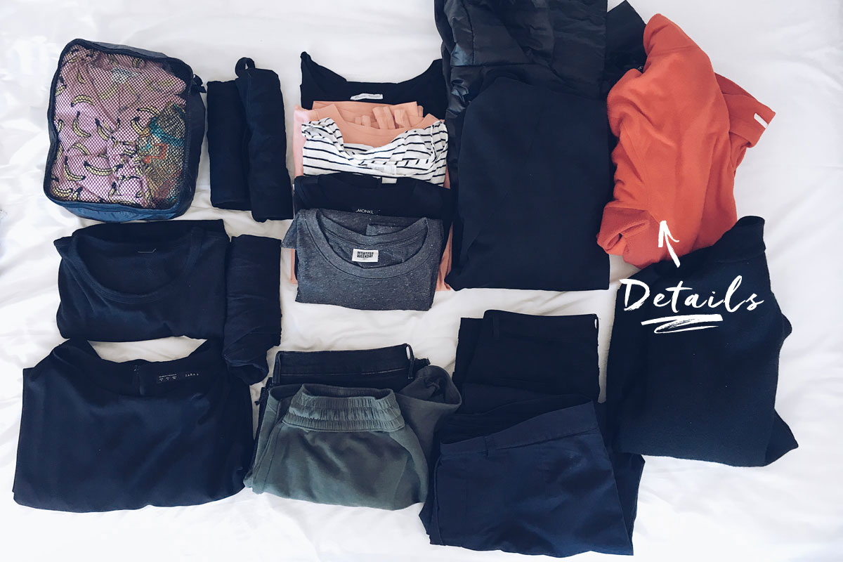 Handgepäck Kleidung